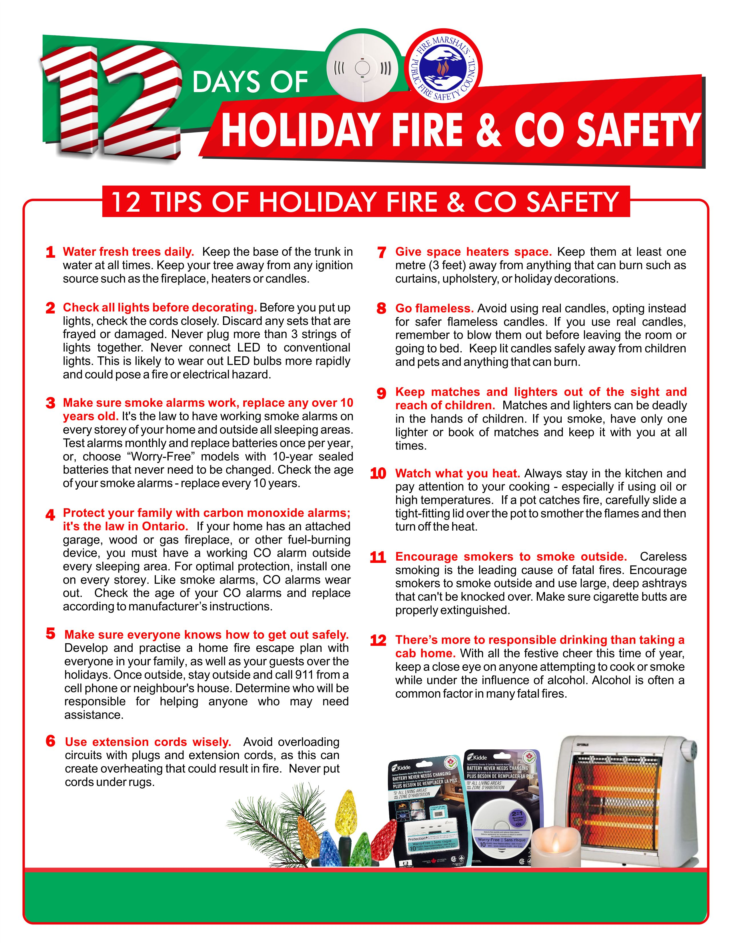 12 Days of Holiday Fire Safety - 12 Safety Tips.jpg